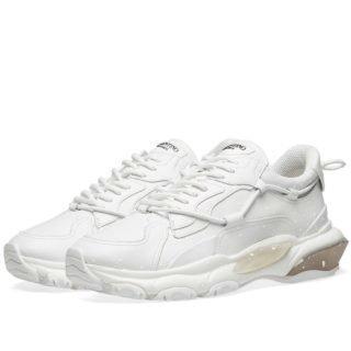 Valentino Bounce Airsole Sneaker (White)