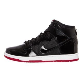 Nike SB Zoom Dunk High TR (zwart/wit/rood)