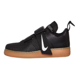 Nike Air Force 1 Utility (zwart/wit/bruin)