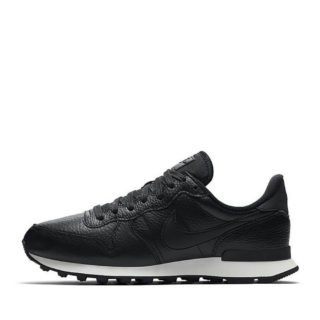 Nike Wmns Internationalist Premium Black/Black Summit White