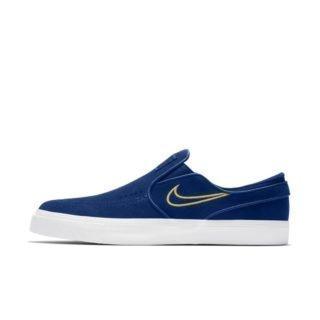 Nike SB Zoom Stefan Janoski Slip-On Skateschoen voor heren - Blauw Blauw