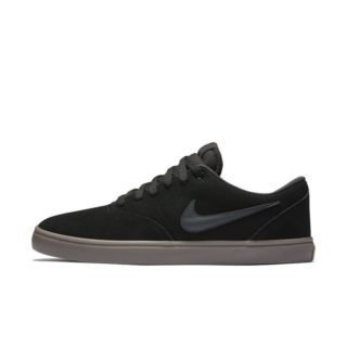 Nike SB Check Solarsoft Skateschoen heren - Zwart Zwart