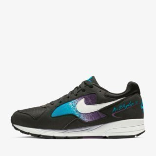 Nike Air Skylon II Black/White Blue Lagoon Grand Paars