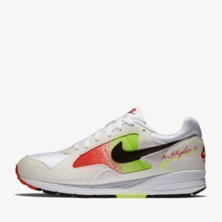 Nike Air Skylon II White/Black Volt Habanero Red