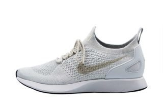 Nike Air Zoom Mariah Flyknit Racer (zilver/wit/grijs/print)