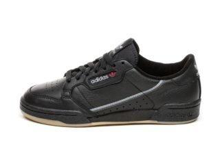 adidas Continental 80 (Core Black / Grey Three / Gum)