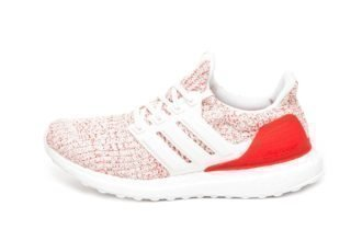 adidas Ultra Boost W (Core White / Core White / Active Red)