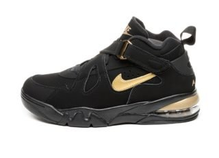 Nike Air Force Max CB (Black / Metallic Gold)