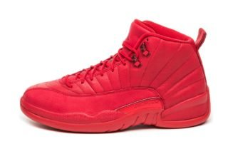 Nike Air Jordan 12 Retro *Bulls* (Gym Red / Black - Gym Red)