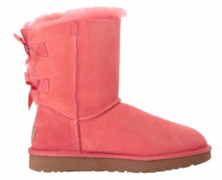 UGG Bailey Bow II Classic Boot Dames 1016225 W/LNT Roze