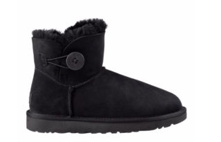UGG Mini Bailey Button II Classic 1016422 Zwart