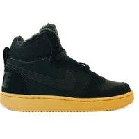 Nike Sneakers court borough mid winter zwart