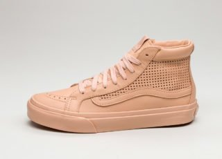 Vans SK8-Hi Slim Cutout DX *Square Perforated* (Amberlight)