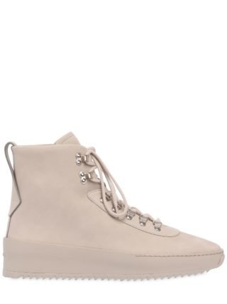 Nubuck Hiking Sneakers (beige)