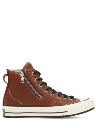 Chuck Taylor 70's Sneakers W/ Riri Zip (bruin)