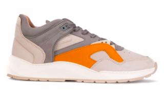 Filling Pieces Low Legacy Arch Runner Foil Off White / Orange