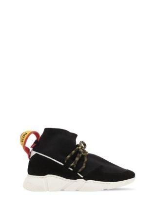 Knit Sock Sneakers (zwart)