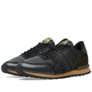 Valentino Rockrunner Sneaker (Grey)