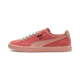 PUMA Clyde South Beach sneakers (Roze/Wit)