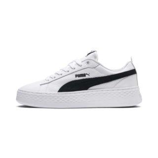 PUMA Puma Smash Platform schoenen (Wit/Zwart)