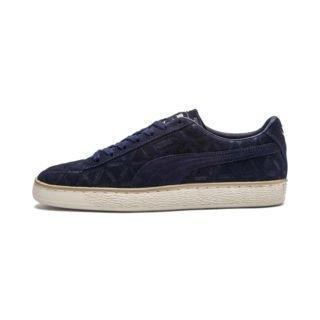 PUMA Suede Classic Lux sportschoenen (Blauw/Beige/Wit)