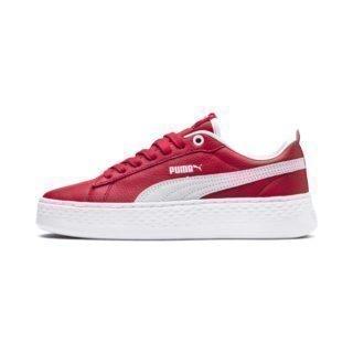 PUMA Puma Smash Platform schoenen (Rood/Wit)