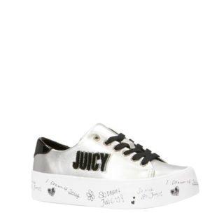 Juicy Couture Zurina sneakers zilver/zwart (dames) (zilver)