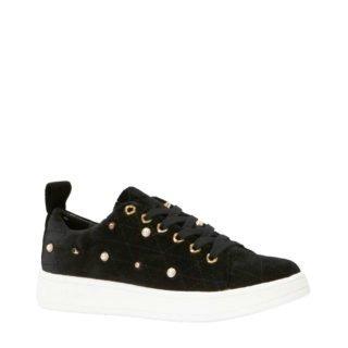 Juicy Couture Jolanda sneakers velours zwart (dames) (zwart)