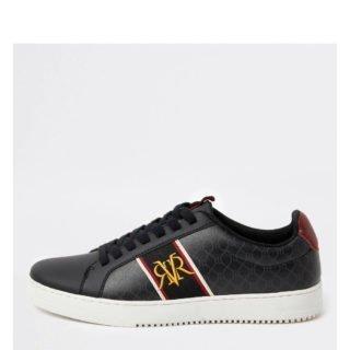 River Island sneakers (zwart)