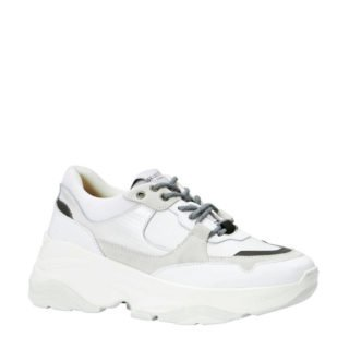 SELECTED FEMME Gavina sneakers (dames) (wit)