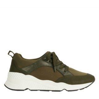 Parfois sneakers kaki (dames) (groen)
