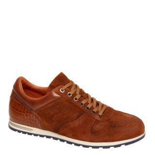 Van Lier leren sneakers bruin (bruin)