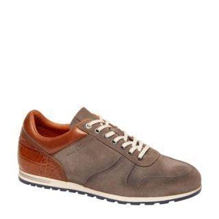 Van Lier suède sneakers grijs (heren) (grijs)