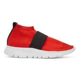 Joshua Sanders Red Go High Sneakers