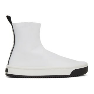 Marc Jacobs White Dart Sock Sneakers