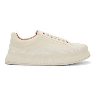 Jil Sander Off-White Olona Pecora Sneakers