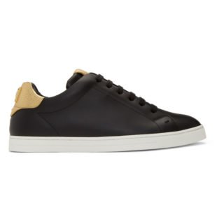 Fendi Black Fendi Vocabulary Sneakers