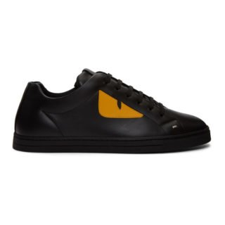 Fendi Black Bag Bugs Sneakers