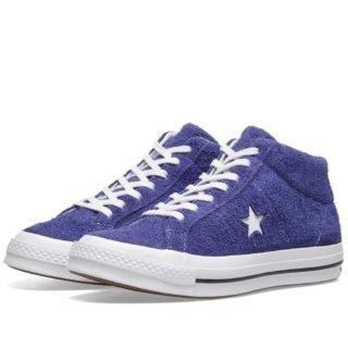 Converse One Star Mid Vintage Suede (Purple)