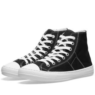 Maison Margiela 22 Stereotype High Sneaker (Black)