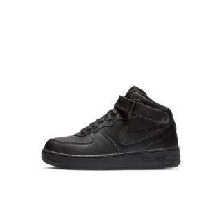 Nike Air Force 1 Mid Kleuterschoen - Zwart Zwart