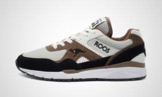 Runaway Roos (Wit/Bruin) Sneaker