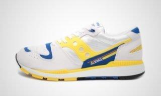Saucony Azura (Wit/Geel) Sneaker