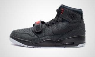 Air Jordan Legacy 312 (Zwart/Rood) Sneaker