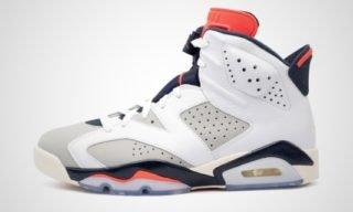 "Air Jordan VI Retro ""Tinker Hatfield"" Sneaker"