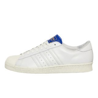 adidas Superstar BT (wit/blauw)
