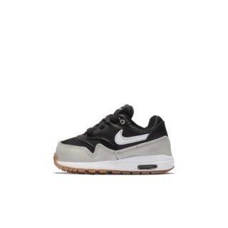 Nike Air Max 1 Schoen voor baby's/peuters - Zwart Zwart
