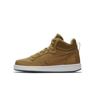 Nike Court Borough Mid Kinderschoen - Bruin Bruin