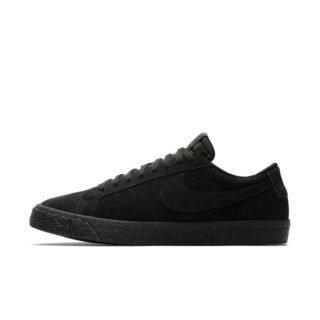 Nike SB Blazer Zoom Low Skateschoen heren - Zwart Zwart