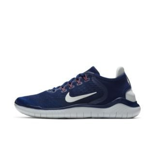 Nike Free RN 2018 Hardloopschoen voor dames - Blauw Blauw